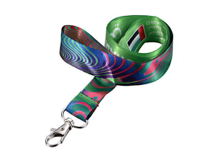 Double Ended Lanyard Badge Holder Retractable Type Funny Dye Sublimation
